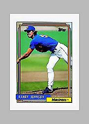 1992 Topps Micro #525 Randy Johnson