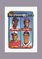 1992 Topps Micro #551 Chipper Jones