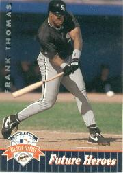 1992 Upper Deck FanFest #10 Frank Thomas