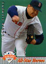 1992 Upper Deck FanFest #19 Roger Clemens