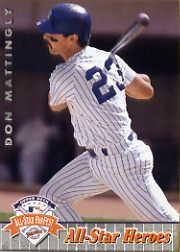1992 Upper Deck FanFest #31 Don Mattingly
