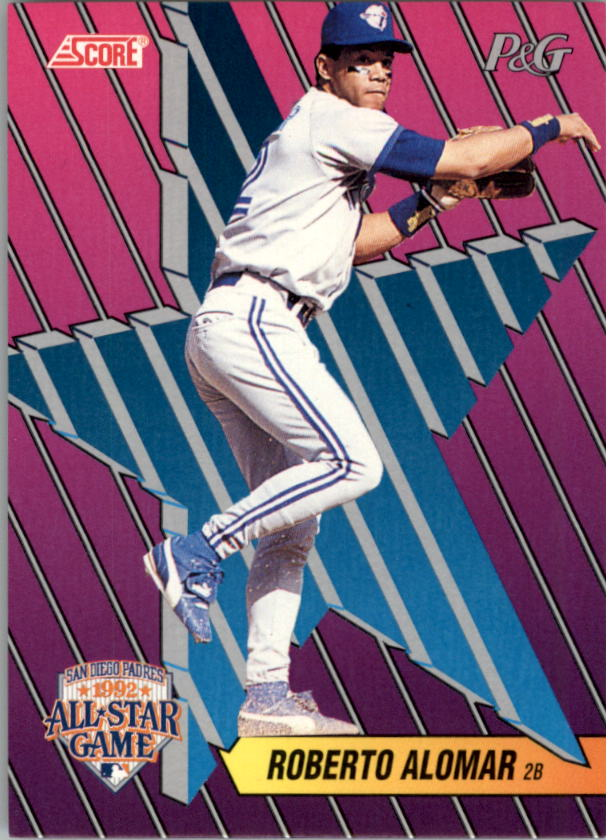 1992 Score Proctor and Gamble #3 Roberto Alomar