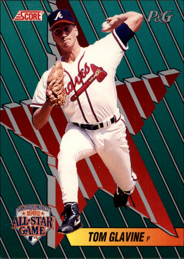 1992 Score Proctor and Gamble #18 Tom Glavine