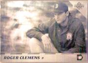 1992 Upper Deck Team MVP Holograms #16 Roger Clemens
