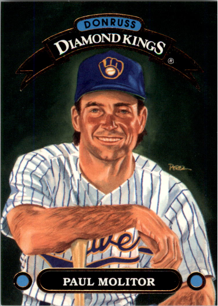 1992 Donruss Diamond Kings #DK1 Paul Molitor