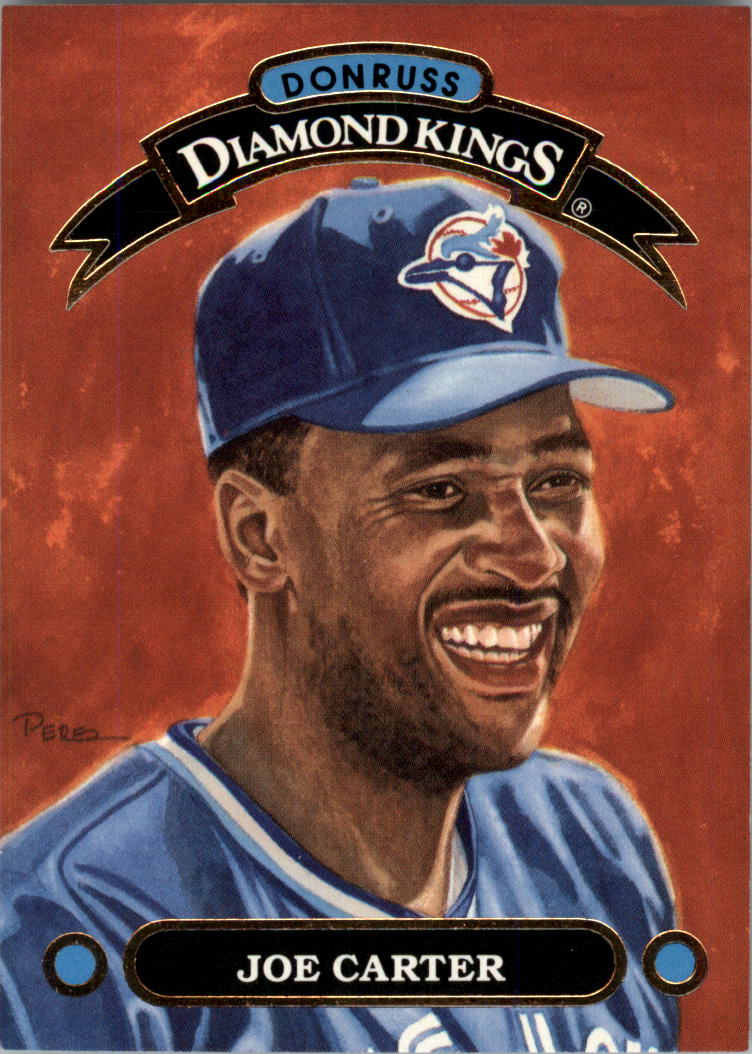 1992 Donruss Diamond Kings #DK3 Joe Carter