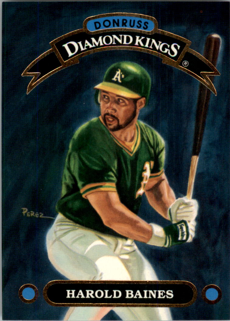 1992 Donruss Diamond Kings #DK14 Harold Baines