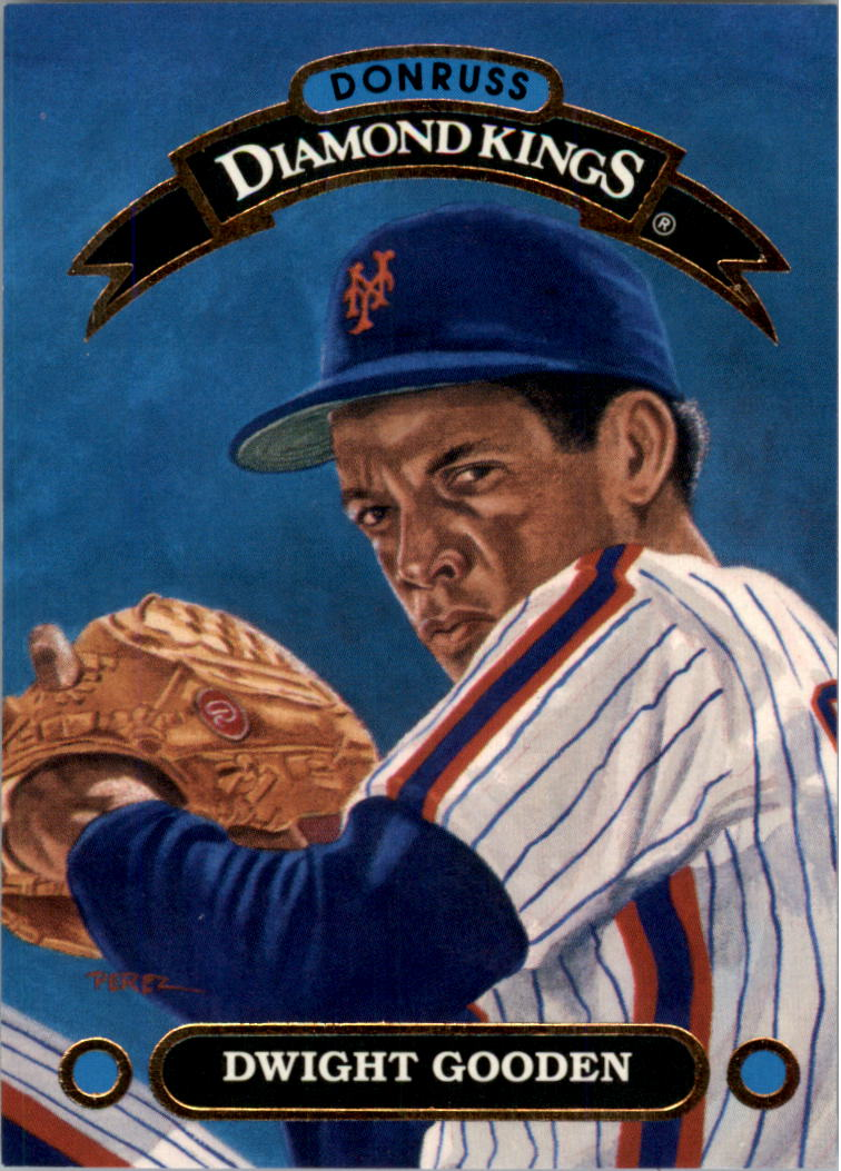 1992 Donruss Diamond Kings #DK15 Dwight Gooden