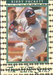 1992 Donruss Elite #17 Kirby Puckett
