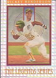 1992 Donruss Elite #L2 Rickey Henderson LGD/7500