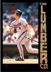 1992 Fleer Lumber Company #L7 Cal Ripken