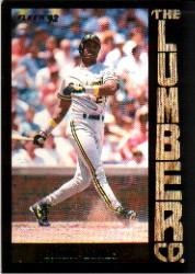 1992 Fleer Lumber Company #L8 Barry Bonds