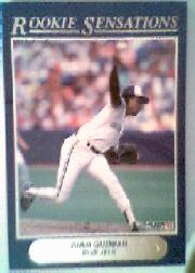 1992 Fleer Rookie Sensations #13 Juan Guzman