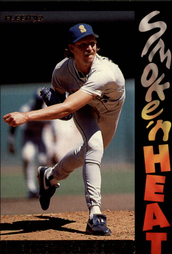 1992 Fleer Smoke 'n Heat #S11 Randy Johnson