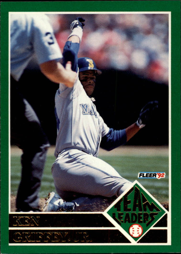 1992 Fleer Team Leaders #15 Ken Griffey Jr.