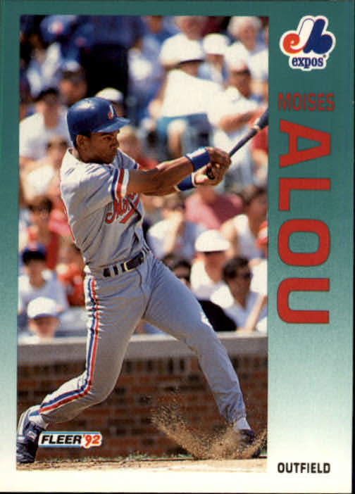 1992 Fleer Update #95 Moises Alou