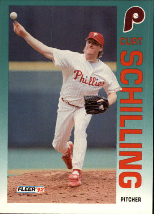 1992 Fleer Update #112 Curt Schilling