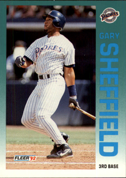 1992 Fleer Update #125 Gary Sheffield