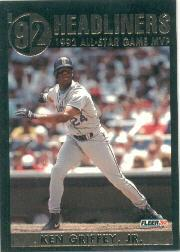 1992 Fleer Update Headliners #1 Ken Griffey Jr.