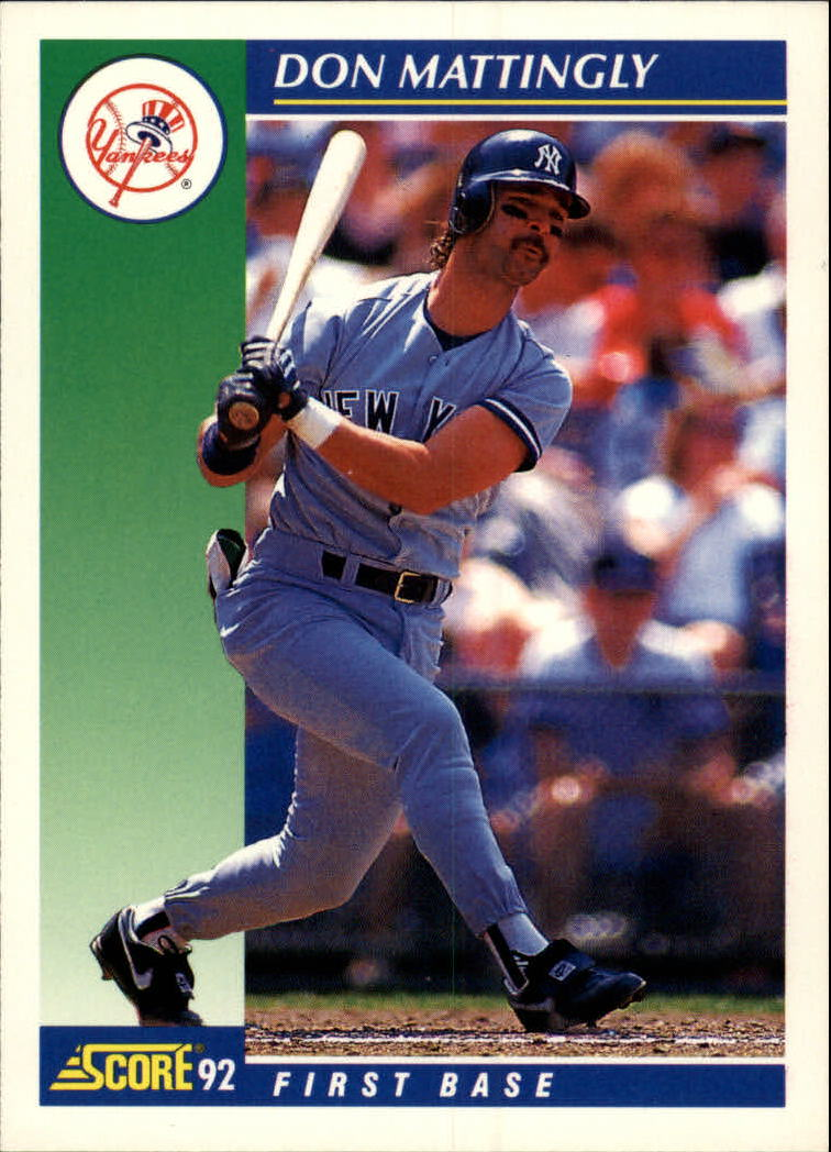 1992 Score #23 Don Mattingly