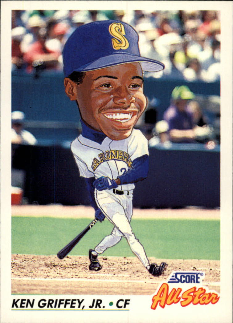 1992 Score #436 Ken Griffey Jr. AS
