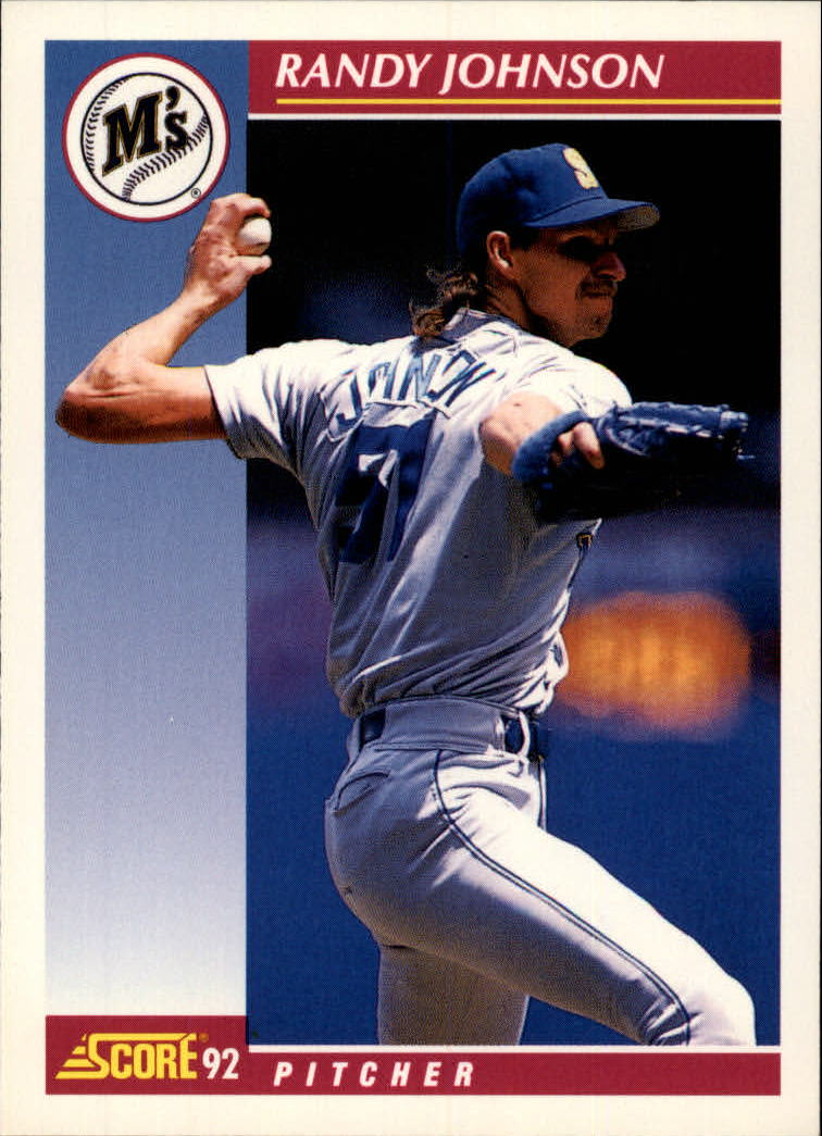 1992 Score #584 Randy Johnson