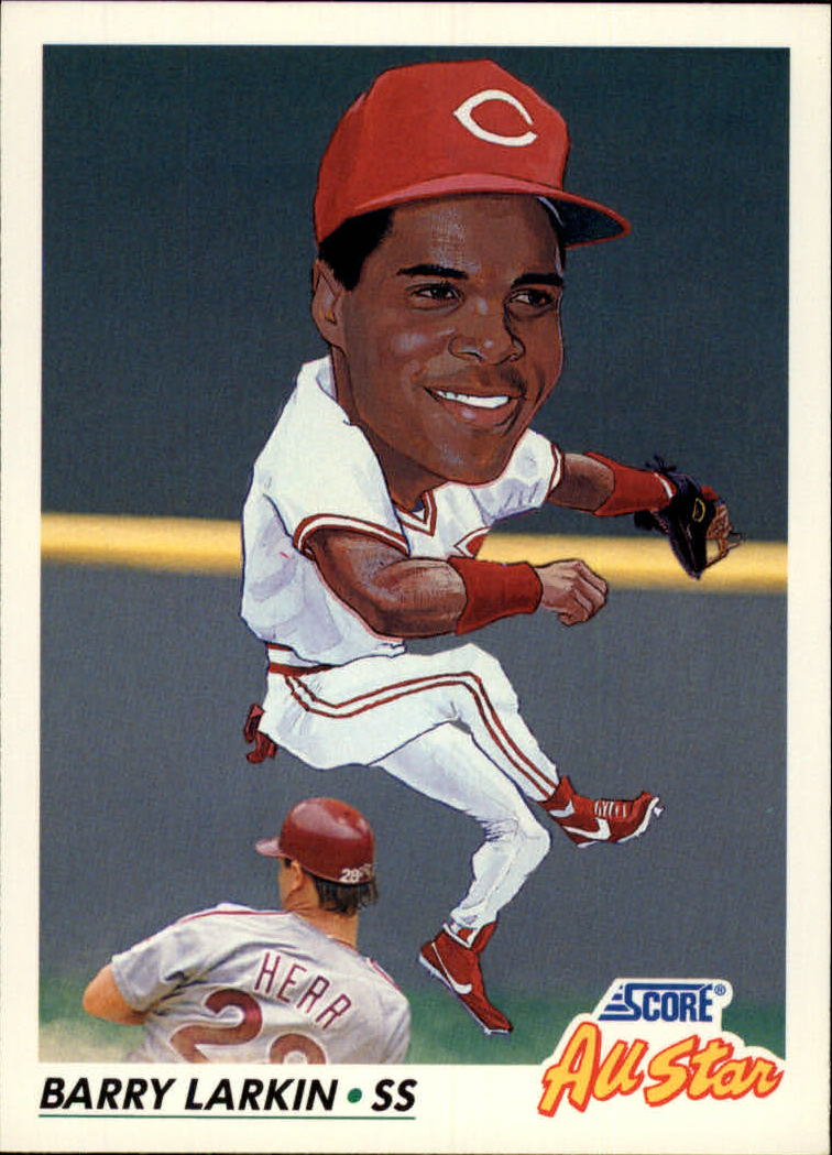 1992 Score #775 Barry Larkin AS