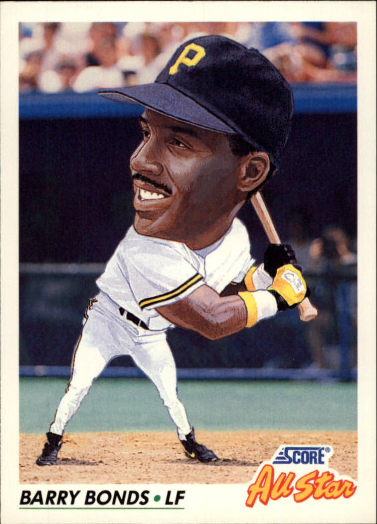 1992 Score #777 Barry Bonds AS