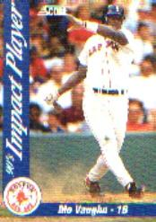 1992 Score Impact Players #21 Mo Vaughn