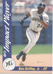 1992 Score Impact Players #28 Ken Griffey Jr.