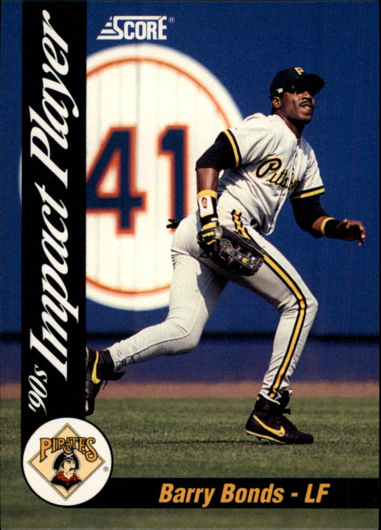 1992 Score Impact Players #55 Barry Bonds