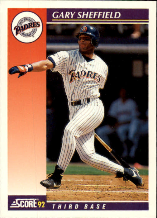 1992 Score Rookie/Traded #1T Gary Sheffield