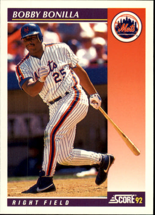 1992 Score Rookie/Traded #5T Bobby Bonilla