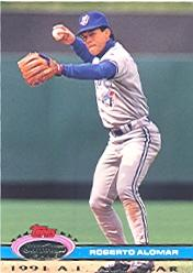 1992 Stadium Club Dome #5 Roberto Alomar AS