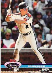 1992 Stadium Club Dome #16 Craig Biggio front image