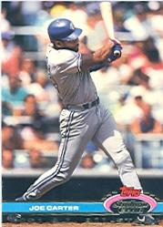 1992 Stadium Club Dome #25 Joe Carter AS