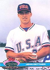 1992 Stadium Club Dome #35 John Dettmer USA