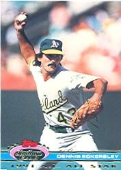 1992 Stadium Club Dome #42 Dennis Eckersley