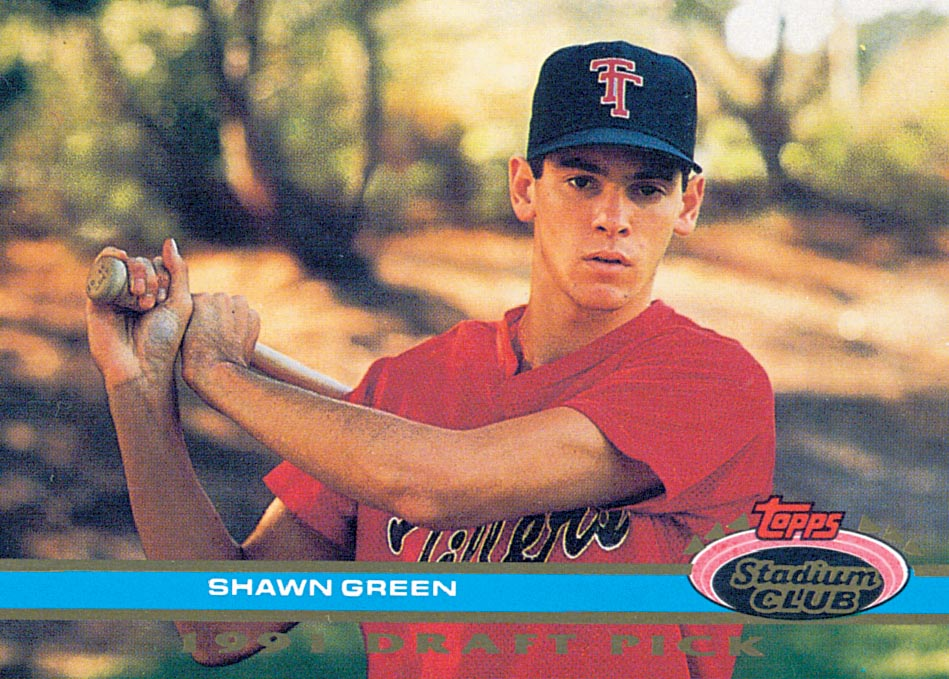 1992 Stadium Club Dome #67 Shawn Green RC