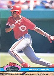 1992 Stadium Club Dome #102 Barry Larkin AS