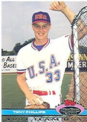 1992 Stadium Club Dome #140 Tony Phillips P USA