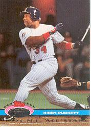 1992 Stadium Club Dome #144 Kirby Puckett WS