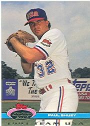 1992 Stadium Club Dome #171 Paul Shuey USA