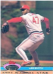 1992 Stadium Club Dome #174 Lee Smith