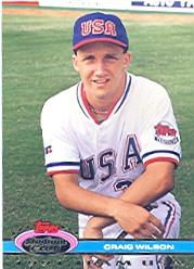 1992 Stadium Club Dome #196 Craig Wilson USA