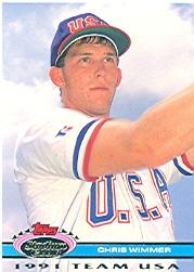 1992 Stadium Club Dome #197 Chris Wimmer USA