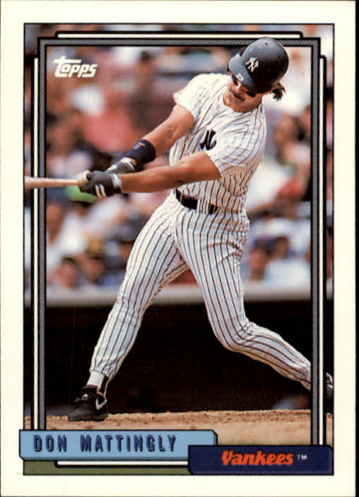 1992 Topps #300 Don Mattingly