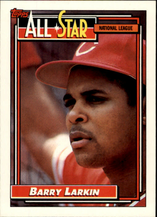 1992 Topps #389 Barry Larkin AS
