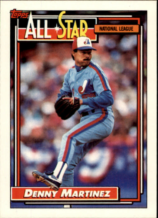 1992 Topps #394 Dennis Martinez AS