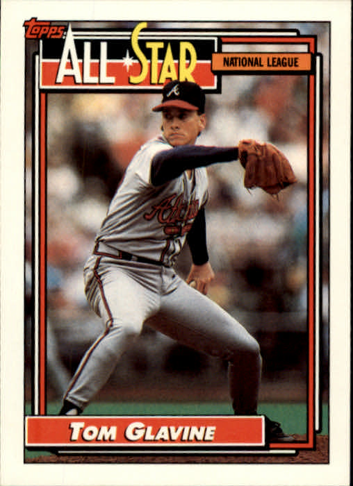 1992 Topps #395 Tom Glavine AS
